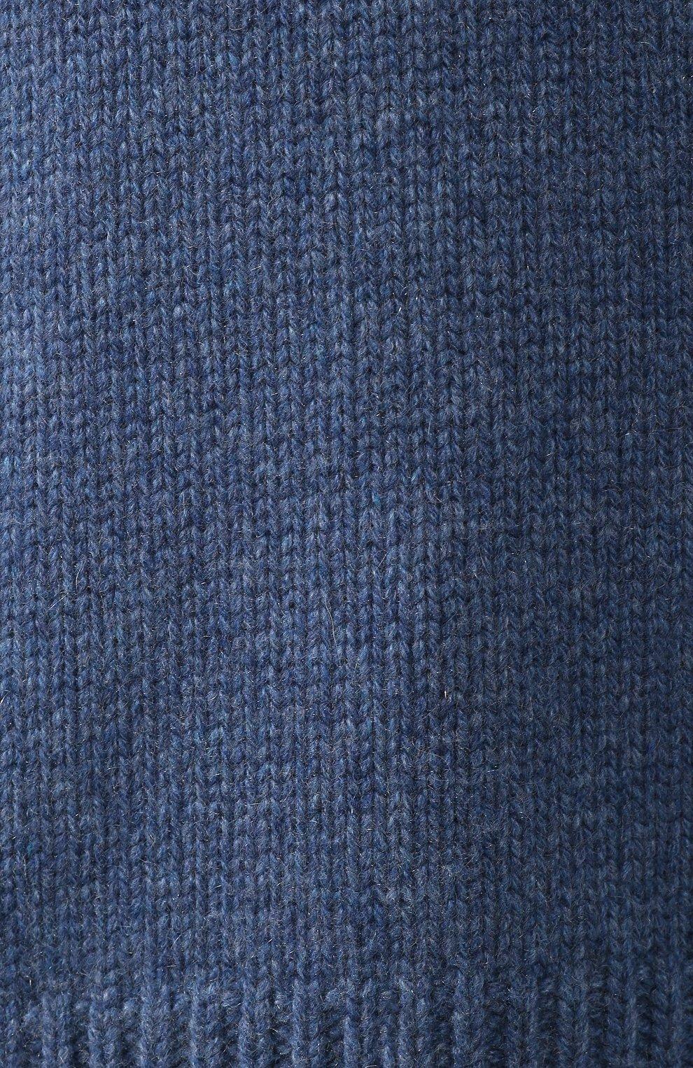 Кашемировый пуловер с высоким воротником | Фото №5