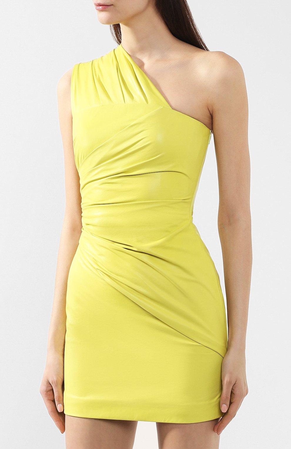 Кожаное платье | Фото №3