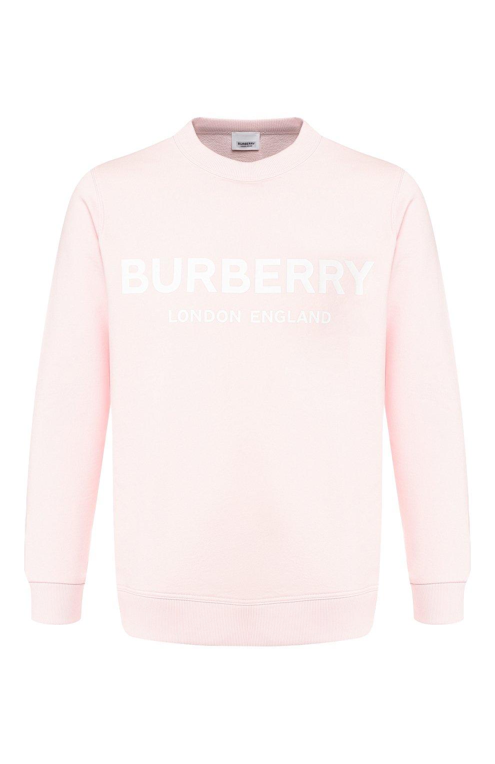 светло розовый свитшот