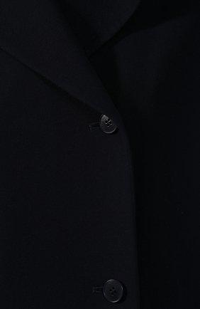 Женский шерстяной жилет LORO PIANA темно-синего цвета, арт. FAI1126 | Фото 5