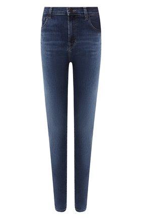 Женские джинсы-скинни J BRAND синего цвета, арт. JB001888/A | Фото 1