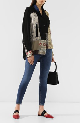 Женские джинсы-скинни J BRAND синего цвета, арт. JB001888/A | Фото 2