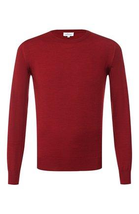 Мужской шерстяной джемпер BRIONI бордового цвета, арт. UMQ90L/0ZK18 | Фото 1
