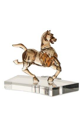 Мужского фигурка chinese zodiac horse SWAROVSKI золотого цвета, арт. 5287172 | Фото 3
