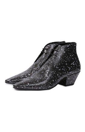 Кожаные ботинки Belle | Фото №1