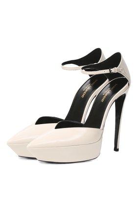 Кожаные туфли Betty | Фото №1