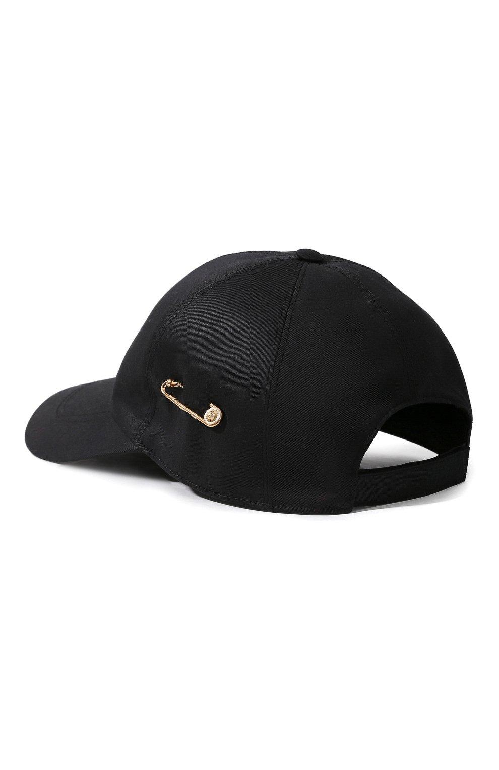 Бейсболка Versace черного цвета   Фото №2
