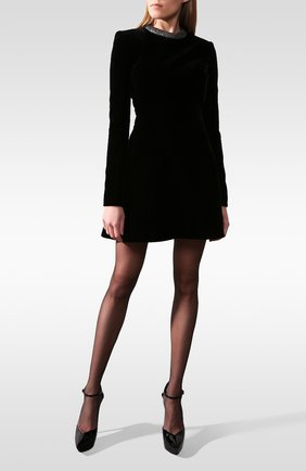 Бархатное платье | Фото №1