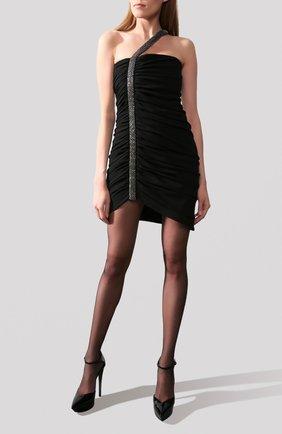 Платье Saint Laurent черное | Фото №1