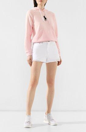 Женские текстильные кроссовки rubel LE SILLA белого цвета, арт. 6833N040H1PPLAC | Фото 2