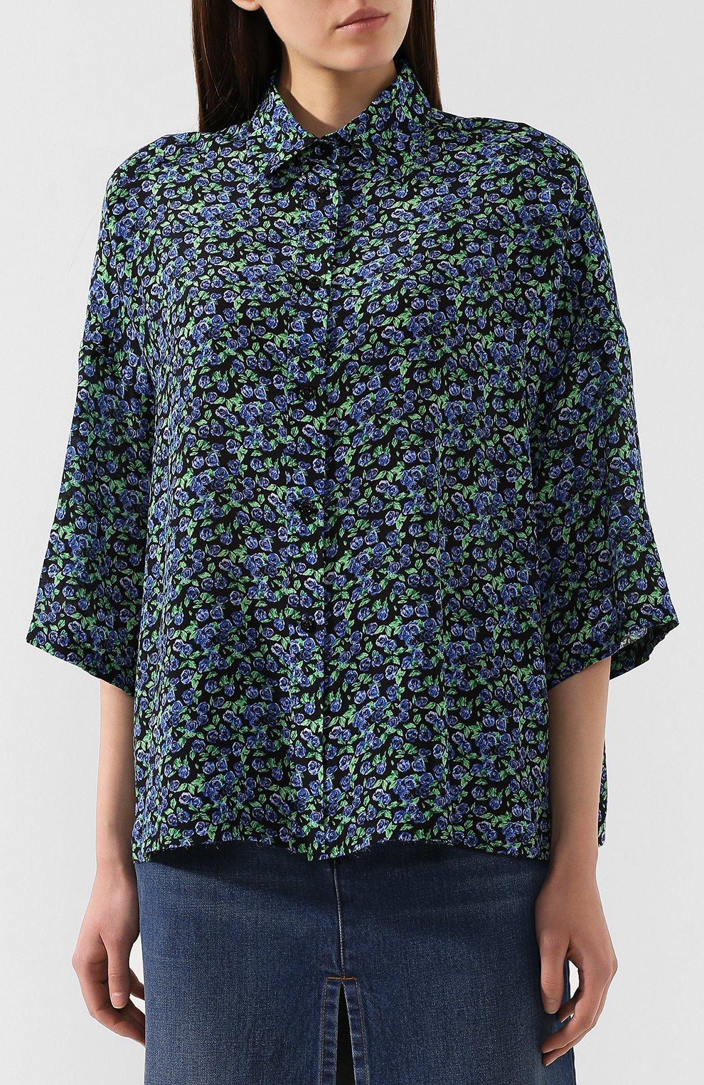 Шелковая рубашка   Фото №3
