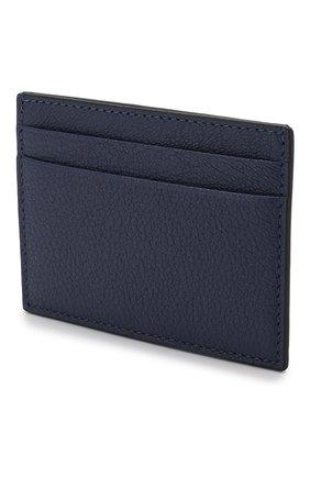 Мужской кожаный футляр для кредитных карт valentino garavani VALENTINO синего цвета, арт. SY2P0655/HFY | Фото 2