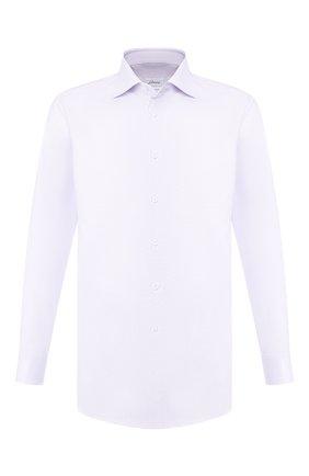 Мужская хлопковая сорочка BRIONI сиреневого цвета, арт. RCL82E/P705T | Фото 1