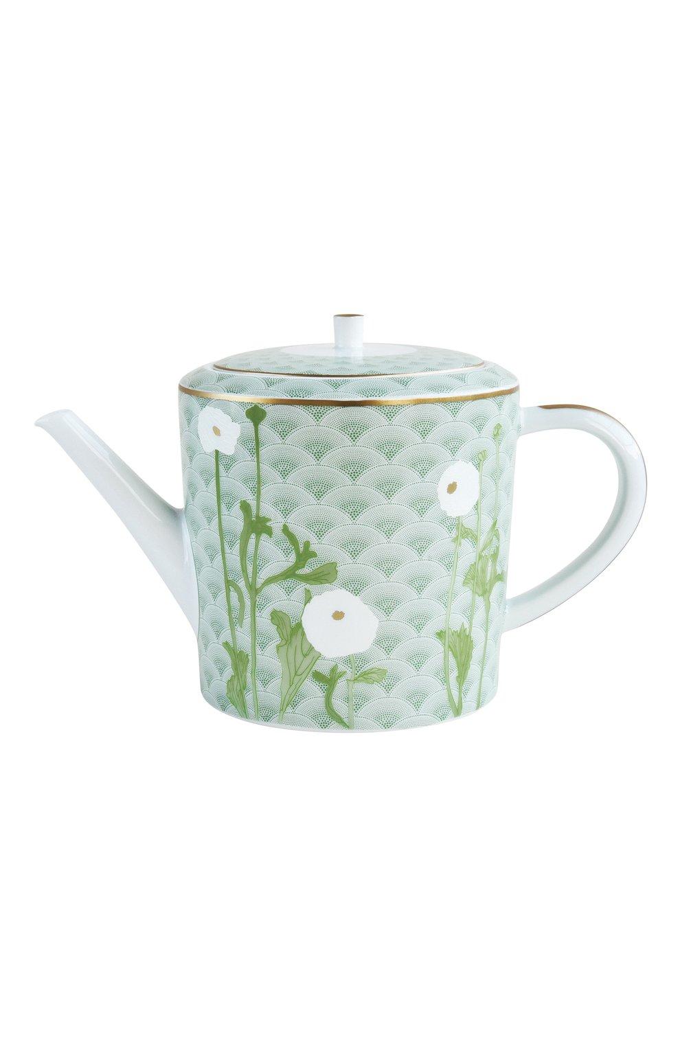 Мужского чайник praiana BERNARDAUD зеленого цвета, арт. 1799/4200 | Фото 1
