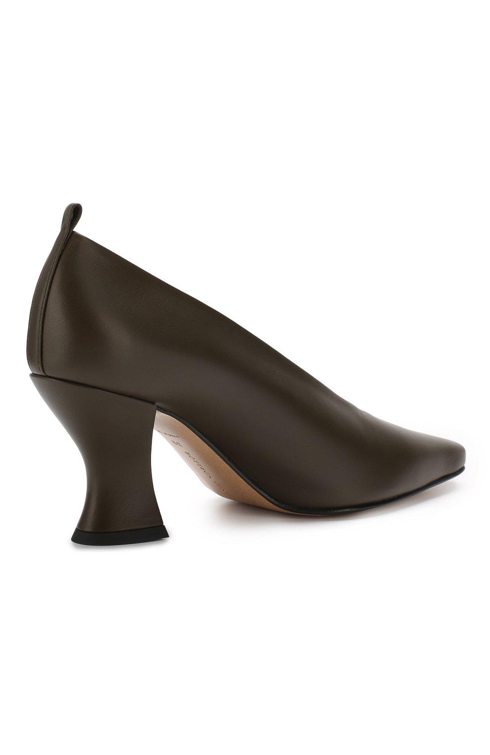 Кожаные туфли   Фото №4