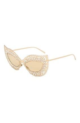 Мужские солнцезащитные очки DOLCE & GABBANA золотого цвета, арт. 2238H-02/03 | Фото 1