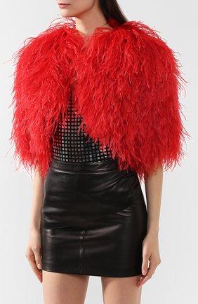 Накидка Dolce & Gabbana красная | Фото №3