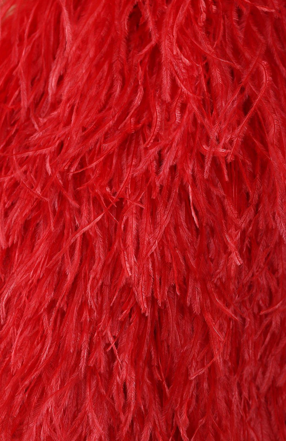 Накидка Dolce & Gabbana красная | Фото №5