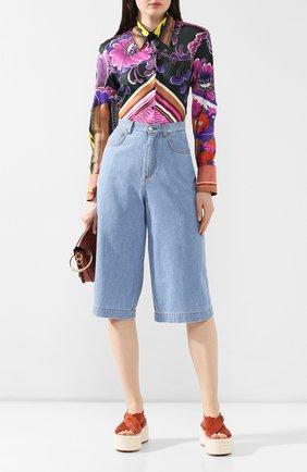 Женские джинсы DOLCE & GABBANA голубого цвета, арт. FTBFYD/G895N | Фото 2