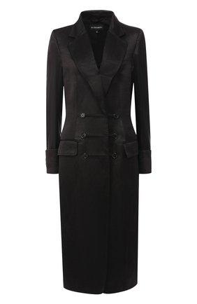 Пальто из смеси льна и шелка   Фото №1