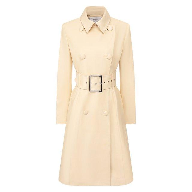 Кожаное пальто Jitrois