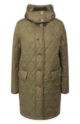 Стеганое пальто Vintage Check | Фото №1