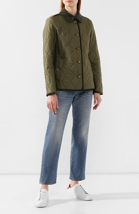 Стеганая куртка Vintage Check | Фото №2