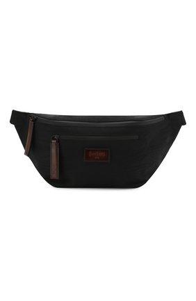 Мужская комбинированная поясная сумка BERLUTI черного цвета, арт. M161924 | Фото 1
