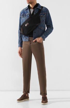 Мужская комбинированная поясная сумка BERLUTI черного цвета, арт. M161924 | Фото 2