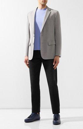 Мужской шерстяной пиджак RALPH LAUREN светло-серого цвета, арт. 798731946 | Фото 2