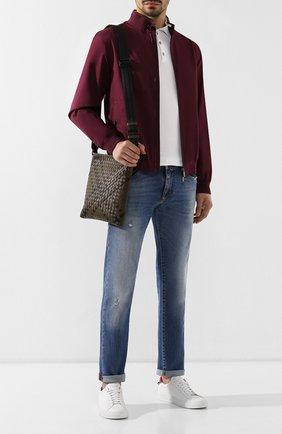 Кожаная сумка-планшет | Фото №2