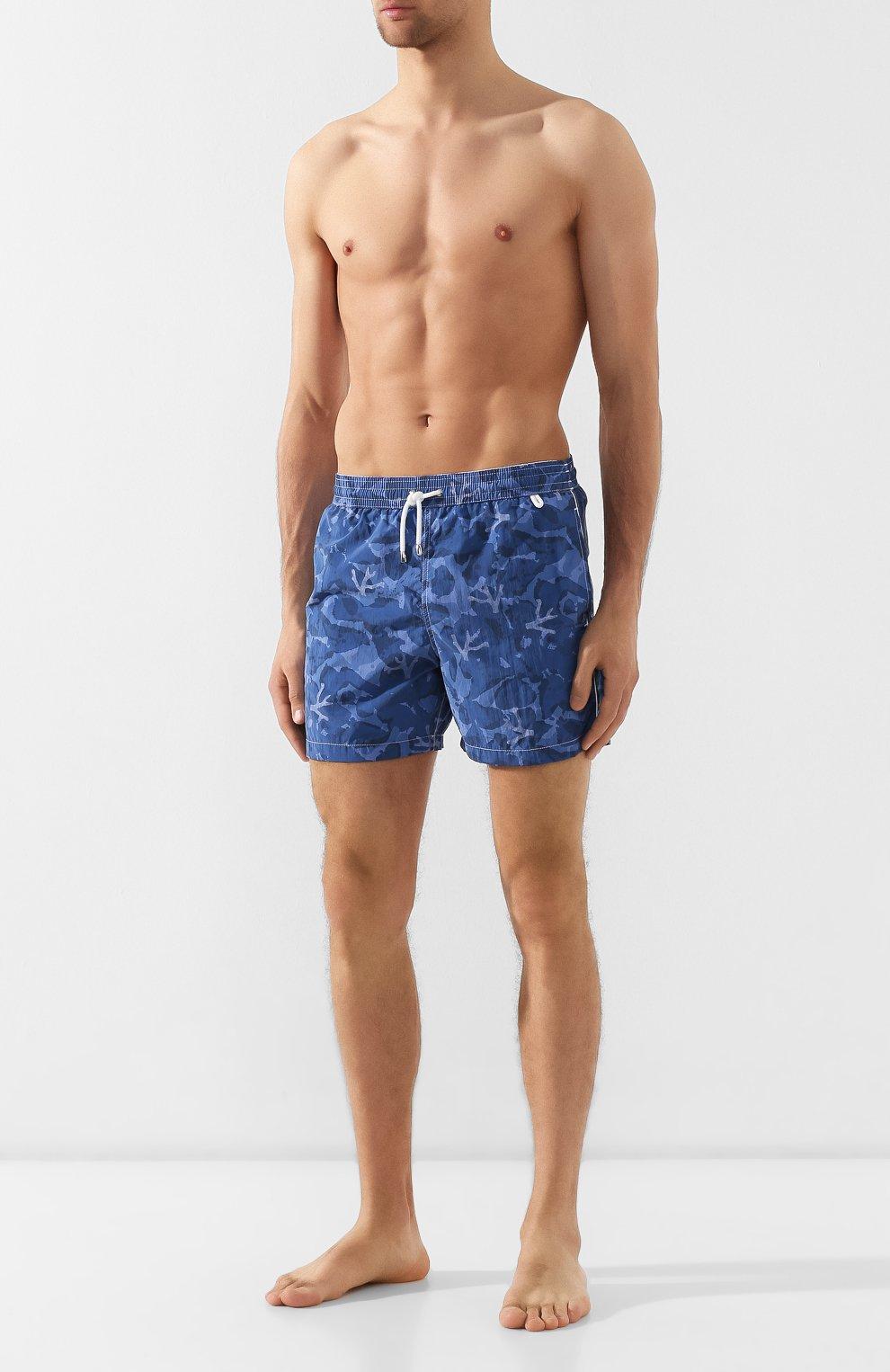 Плавки-шорты Isaia голубые | Фото №2