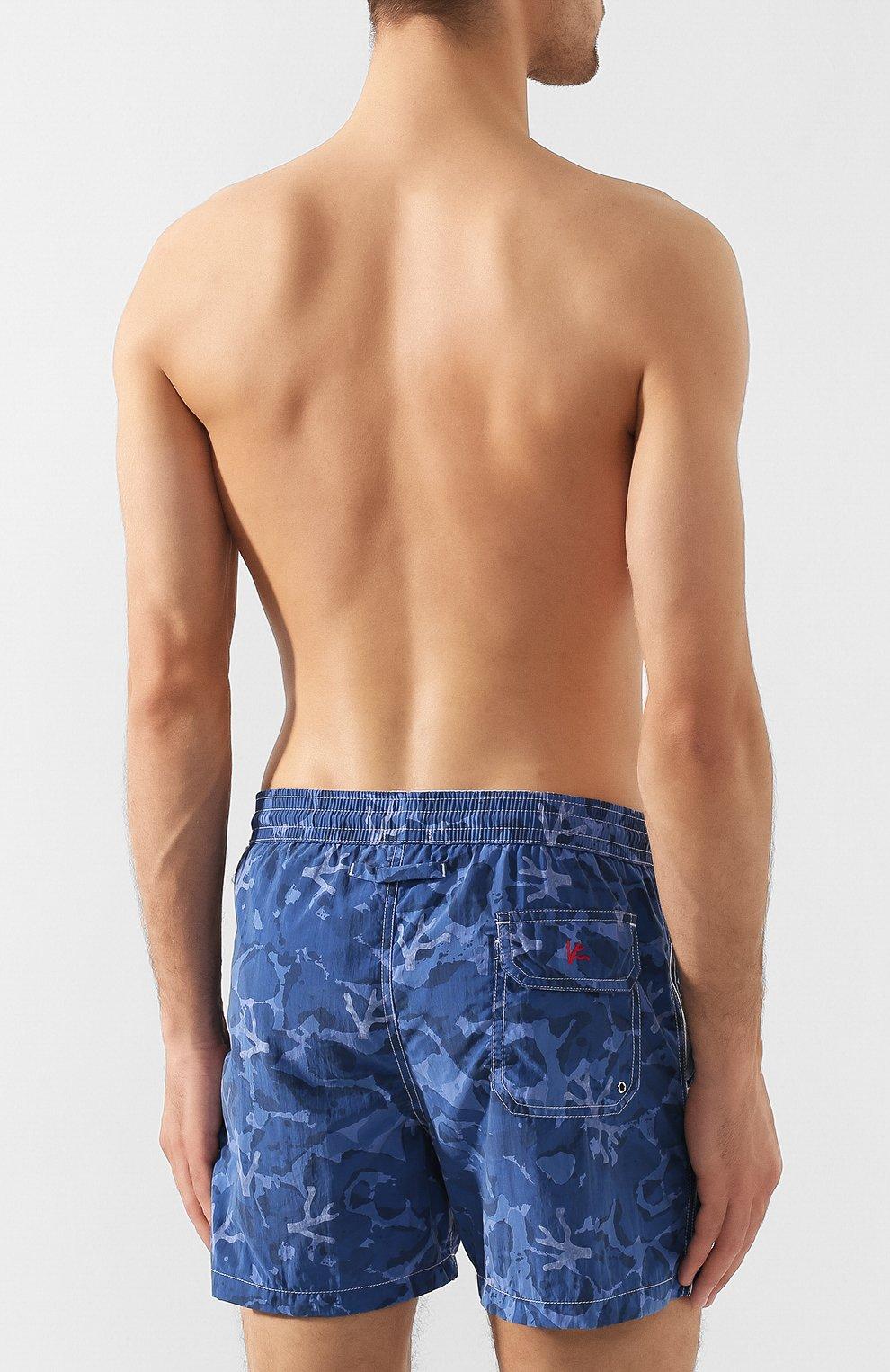 Плавки-шорты Isaia голубые | Фото №4