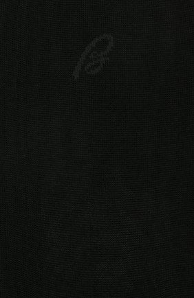 Мужские хлопковые носки BRIONI черного цвета, арт. 0VMC00/08Z02 | Фото 2 (Материал внешний: Хлопок; Статус проверки: Проверена категория; Кросс-КТ: бельё)