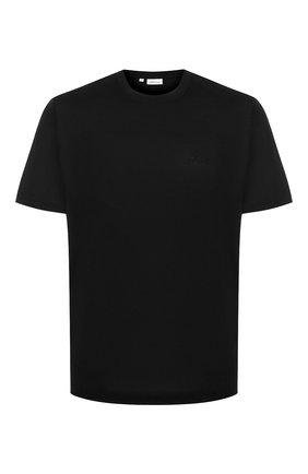 Мужская хлопковая футболка BRIONI черного цвета, арт. UJCA0L/PZ600 | Фото 1