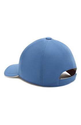 Детская бейсболка LORO PIANA голубого цвета, арт. FAE8580 | Фото 2