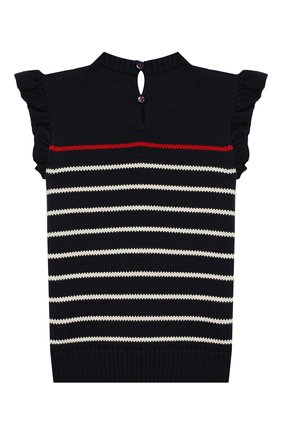 Детский комплект из юбки и топа POLO RALPH LAUREN синего цвета, арт. 313736827 | Фото 3