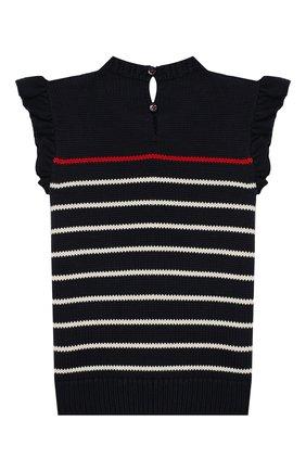 Детская комплект из юбки и топа Polo Ralph Lauren синего цвета | Фото №3