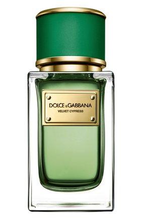 Женский парфюмерная вода velvet collection cypress  DOLCE & GABBANA бесцветного цвета, арт. 3034565DG | Фото 1