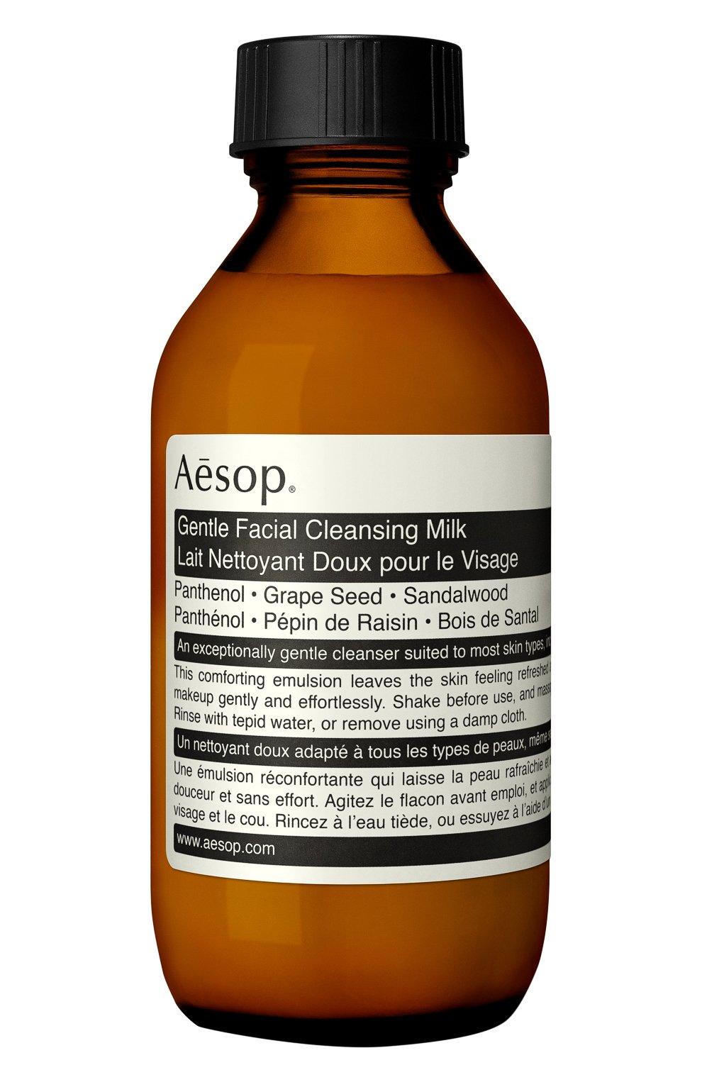 Женского очищающее молочко для лица AESOP бесцветного цвета, арт. B100SK65 | Фото 1