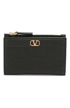 Кожаный кошелек Valentino Garavani | Фото №1