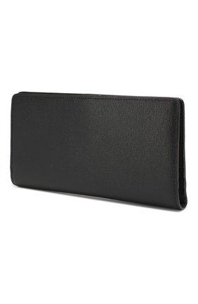 Женские кожаный кошелек babylon FURLA черного цвета, арт. PZ27/B30 | Фото 2