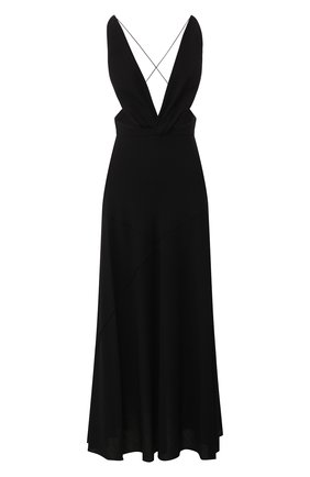 Платье-миди Givenchy черное   Фото №1