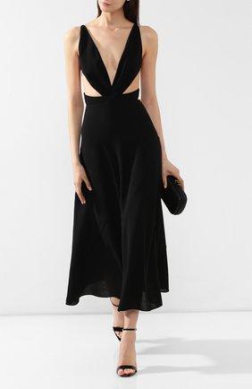 Платье-миди Givenchy черное   Фото №2