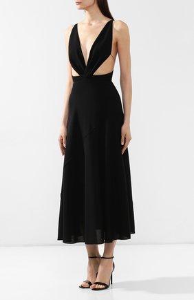 Платье-миди Givenchy черное   Фото №3