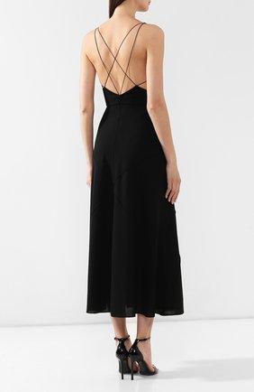Платье-миди Givenchy черное   Фото №4
