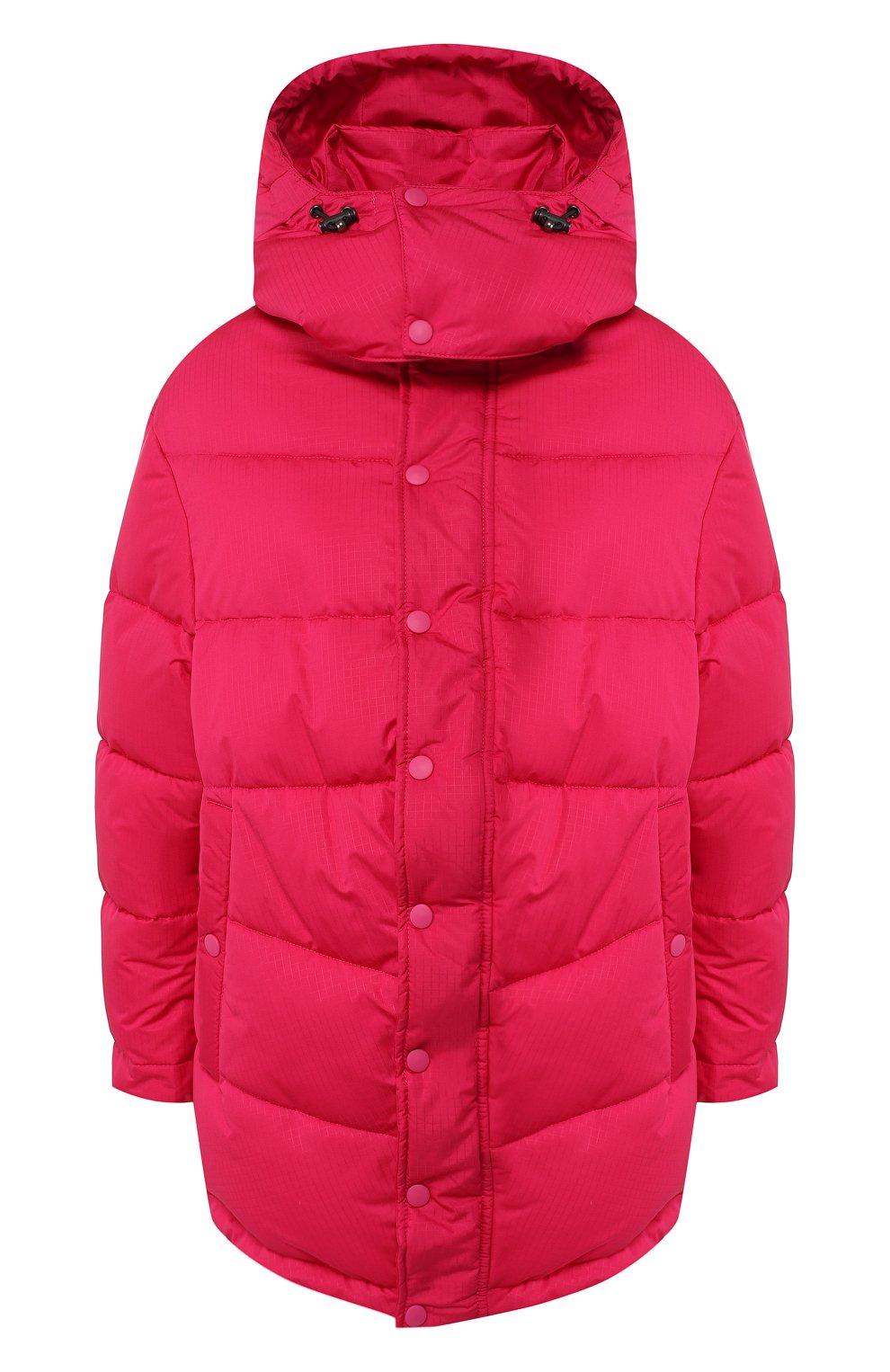 Женский стеганая куртка BALENCIAGA розового цвета, арт. 555346/TYD33   Фото 1 (Кросс-КТ: Куртка, Пуховик; Рукава от горловины: Длинные; Рукава: Длинные; Женское Кросс-КТ: Пуховик-куртка; Длина (верхняя одежда): До середины бедра, Короткие; Материал внешний: Синтетический материал, Полиэстер; Материал подклада: Синтетический материал; Статус проверки: Проверено, Проверена категория)