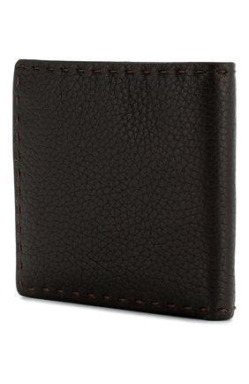 Мужской кожаный футляр для кредитных карт KITON светло-коричневого цвета, арт. UPVENEN00739 | Фото 2