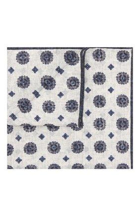 Носовой платок из смеси шелка и хлопка | Фото №1