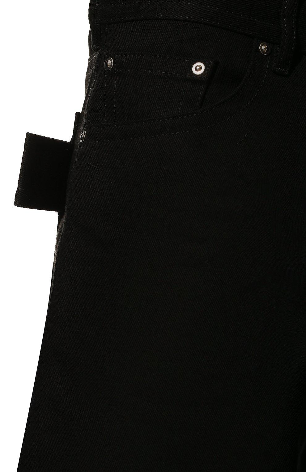 Мужские хлопковые шорты BOTTEGA VENETA черного цвета, арт. 572996/VF4T0 | Фото 5 (Мужское Кросс-КТ: Шорты-одежда; Принт: Без принта; Длина Шорты М: Ниже колена; Материал внешний: Хлопок; Стили: Минимализм; Статус проверки: Проверена категория)